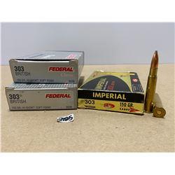 60 X FEDERAL / IMPERIAL .303 BRIT 150 GR