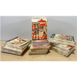 59 ISSUES OF CANADIAN ARMY JOURNAL - 1950 TO 1965.