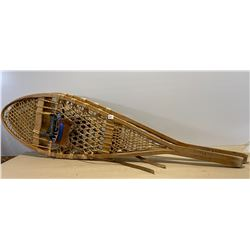 AVERY & SONS ANTIQUE SNOWSHOES & ICE TONGS