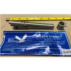 WILSON .45 ACP BARREL & BUSHING - AS NEW