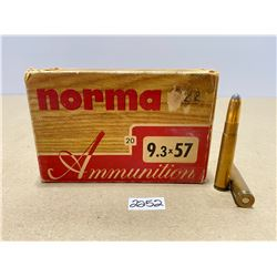 20 X NORMA 9.3 X 57