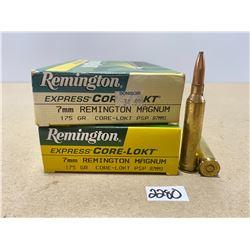 40 X REMINGTON 7 MM REM MAG 175 GR