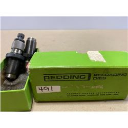 REDDING 6 MM RELOADING DIE SET