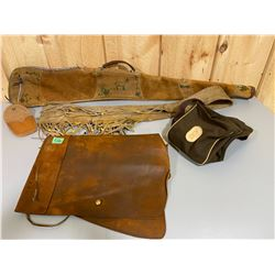 LOT OF LEATHER ACCESSORIES