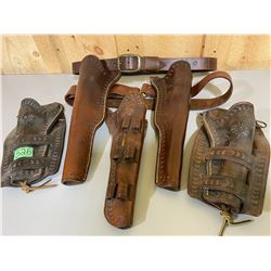 LEATER BELTS & HOLSTERS