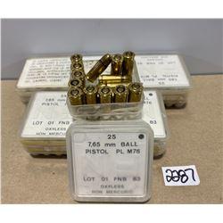 140 X .32 ACP FN MILITARY