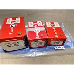 APPROX 2600 GAS CHECKS - 44 CAL. 7 MM. .338 CAL.