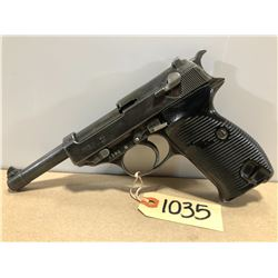 WALTHER MODEL P38 AC 42 9 MM