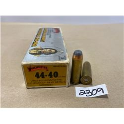 20 X WINCHESTER .44-40 200 GR