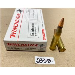 20 X WINCHESTER 5.56 MM .55 GR