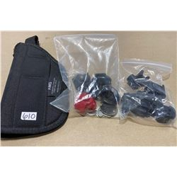 AMS HOLSTER & QTY OF TRIGGER LOCKS
