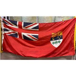 """WWII ERA FLAG - 35"""" X 70"""""""