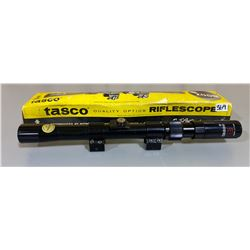 TASCO 3 - 7 X 20 SCOPE W/ ORIG BOX