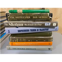 LOT OF 8 SHOTGUN HARD COVER REFERENCE BOOKS