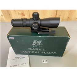 NCSTAR MARK III TACTICAL SCOPE - 1.25 - 4 X 32