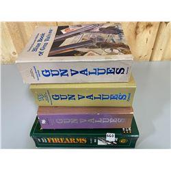 LOT OF 4 GUN VALUE BOOKS