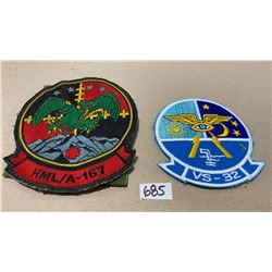 HML/A-167 & VS-32 BADGES