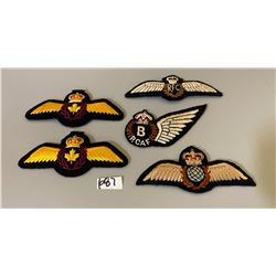 RFC & RCAF ASSORTED WINGS