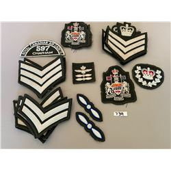 QTY OF BADGES & PATCHES