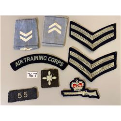 ROYAL AIR FORCE TRAINING CORP BADGES