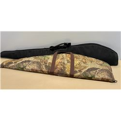 LOT OF 2 SOFT LONG GUN CASES - AS NEW