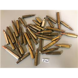 AMMO- 40+ PCS MIXED CENTRE FIRE ROUNDS