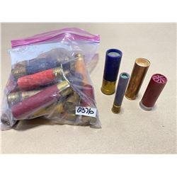 28 X COLLECTIBLE SHOT SHELLS - MIXED GA