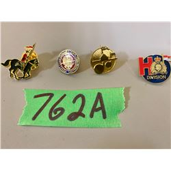 COMMISSIONAIRE PINS