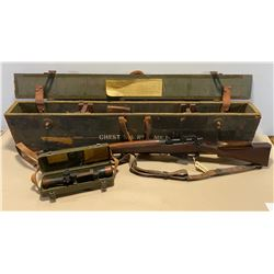 ENFIELD NO 4 MK I  .303 - SNIPER RIFLE - UNUSUAL FIND.