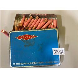 APPROX 30 X GEVELOT 9 MM SHOT
