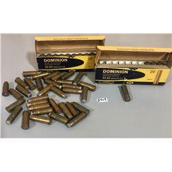 34 X  CIL .44 - 40 SHOT & 42 X MISC .44 - 40