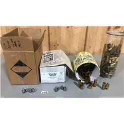 400 + BULLETS & APPROX 200 X BRASS .44 - 40