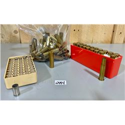 50 X .38 S & W BRASS & 20 X .30-30 BRASS & 30 X .45-70 BRASS