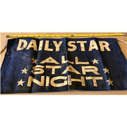 THE DAILY STAR NEWSPAPER BOYS APRON