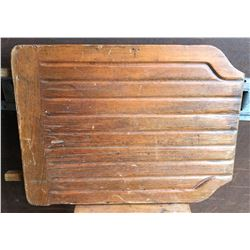 ANTIQUE WOODEN DRAINBOARD FOR DISH WASHING