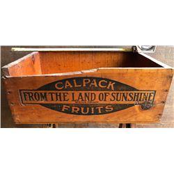 CALPACK FRUITS CRATE