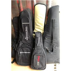 LOT OF 5 INSTRUMENT CASES - SOME AS NEW