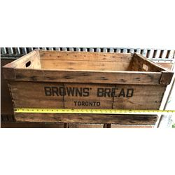 BROWN'S BREAD CRATE - TORONTO