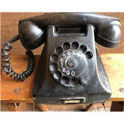 PTT BAKELITE VINTAGE ROTARY TELEPHONE