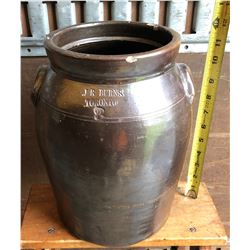 ANTIQUE BUTTER CROCK / JUG