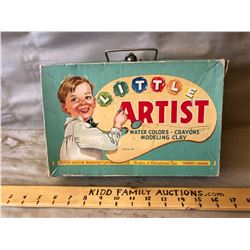 PETER - AUSTIN 'LITTLE ARTIST' SUPPLY BOX - EMPTY