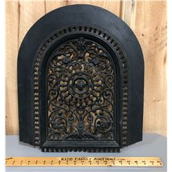 ANTIQUE CAST WALL GRATE