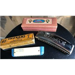LOT OF 2 HARMONICAS - THORENS & WEISS