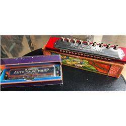 LOT OF 2 M. HOHNER'S HARMONICAS