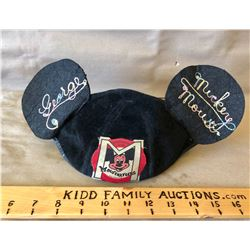 1960's MOUSEKETEERS BEANIE FROM THE MICKEY MOUSE CLUB