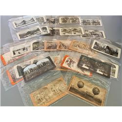 LARGE ALBUM OF STEREOGRAPH CARDS