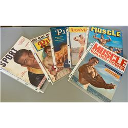 LOT OF 6 BODY BUILDING / BOXING PUBLICATIONS