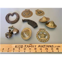 LOT OF HORSE BRASS