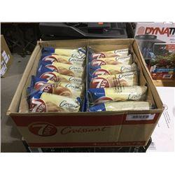 Case of 7 Days Vanilla Filled Croissants (4 x 6 x 75g)