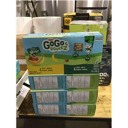 GoGo Squeez Fruit Sauce (12 x 90g) Lot of 4